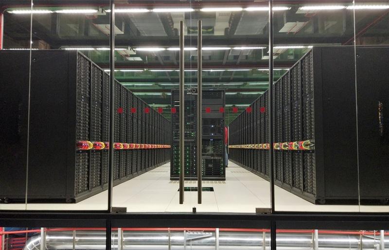 "MareNostrum 4 supercomputer at Barcelona Supercomputing Center 2 br.jpg"" by Gemmaribasmaspoch is licensed under CC BY-SA 4.0"