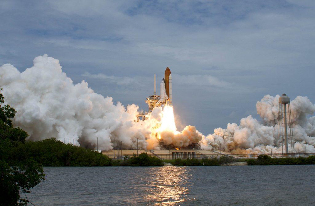 Ultimo lancio da suolo americano -   Photo Credit: (NASA/Bill Ingalls)